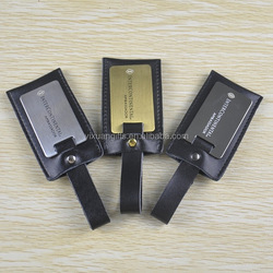 International Leather Security Luggage Tags