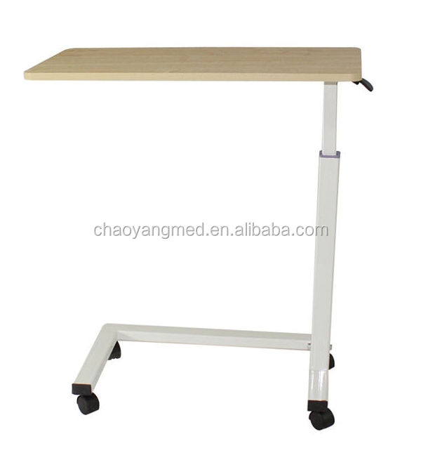 Hospital bed tray table over bed table with wheels hospital bedside tables cy h836 buy bedside - Bed tafel ...