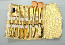 7pc makeup brush set with bag for party and travel and daily makeup brush set wholesale