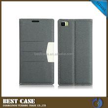 flip cover case for xiaomi mi3, Custom design PU Leather Flip Cell Phone Cover Back Case