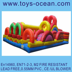 giant inflatable obstacles for sale , inflatable obstacle course for adults/outdoor obstacle course equipment