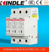 KINDLE KEY1-10 new design home power system lightning electrical equipment surge arrester 3P
