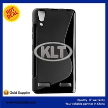 Fast delivery S line cover for lenovo A6000 TPU Silicone Gel case