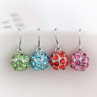 Good Quality 925 Sterling Silver Dangle Earrings, Wholesale Earrings Accessories
