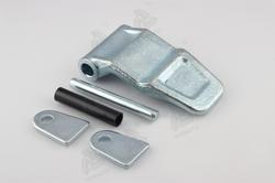 02247 steel zinc container parts type of container door hinge 180 degree hinge