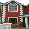 Prefabricated steel structure villa with decorative interior & exterior wall panels
