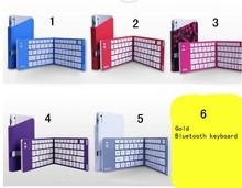 Flexible Silicone Foldable Wireless Bluetooth Keyboard For iPad Tablet Keyboard Bluetooth