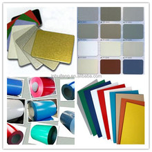 3003 H44 aluminum color coating sheet use for decoration