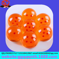 hot sell 7CM translucent seven star seven dragon ball big dragon ball Furnishing articles Resin handicraft