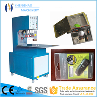 Plastic high frequency welding machine for PVC blister packing