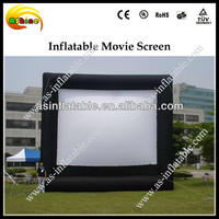 Only three days promoting inflatable movie screen for sale
