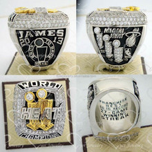 Custom made 2013 Miami heat championship ring free 3D design with mold available