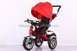 3wheels baby stroller bike/bicycle/tricycle 8colors choose HLF-5566-2 Fashion&trend popular Rotating seat