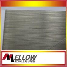 Mellow 2015 Anti-fingerprint Coating Stainless Steel Sheet Foshan