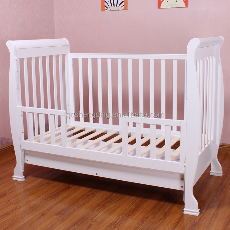 Best Selling In Australia Baby Cot With Drawer Baby
