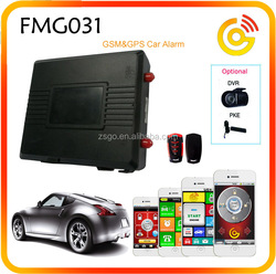 GSM GPS Real Time Online Tracking SmartPhone SMS Car Alarm Start Push Button