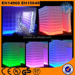 Hot!! High Quality LED Lighting Photo Booth Inflatable Tent
