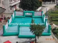 Competitive price inflatable soccer pitch sport field court
