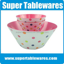 Fancy style colorful safety health fruit bowls