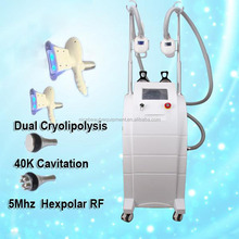 Ultrasound Cavitation Newest Cryotherapy Freeze Off Fat Beauty Apparatus