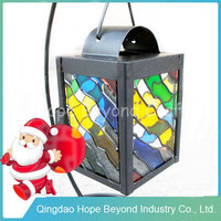 Cheap colorful metal lantern wedding decorative metal lantern stand