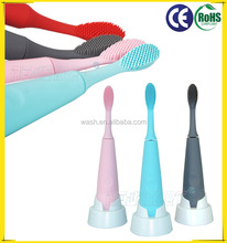 Hot selling new design sonic electric toothbrush Silicone Rubber Toothbrush