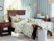 cartoon animal new design microfiber twill printed 100% cotton comfortable children bedding set