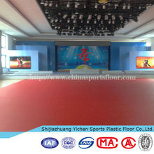Commercial Used PVC Resilient Flooring for Dancing Room