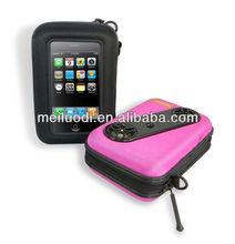 portable stereo digital speaker case smooth and soft custom making mobile phone speaker bag