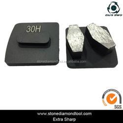 Metal Diamond Concrete Floor Grinding Block for Epoxy and Glue