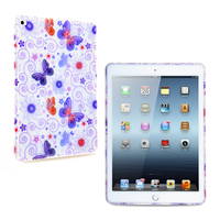 Custom design TPU back case cover for ipad air 2 with rubber coating