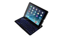 Backlit Blinking Bluetooth Keyboard Case for iPad Air, Wireless Bluetooth Keyboard with LED backlight