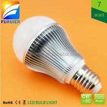 Samsung smd e27 e26 b22 base 7w economical led lighting bulb