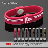Bio Elements Energy Personalized Hologram Adjustable Silicon Wrist Band
