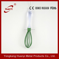 Hot- selling cheap kitchen egg whisks with silicone