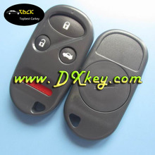 Hot sale 3+1 button remote car keys shell removable battery cover for honda car remote key cover Honda smart key