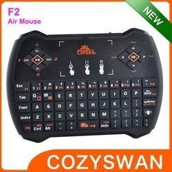 F2 mini remote control 2.4GHZ wireless keyboard