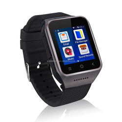 wholesaleandroid support 3G smartwatch WCDM 5.0M camera,4.0 bluetooth 3G wifi smart watch with good price