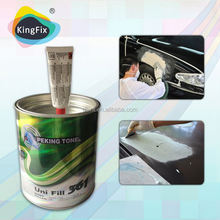 slow drying applied directly applied in single application polyester auto-body putty
