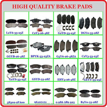hot selling disc brake pads price/toyota corolla brake pads/brake pads for innova
