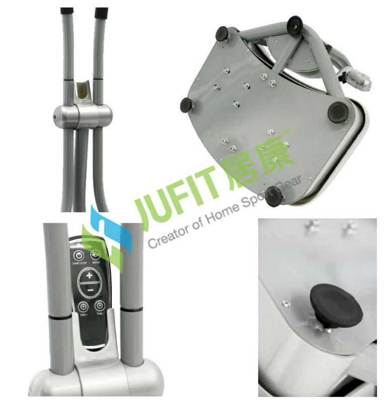 2014 JUFIT Commercial Gym use vibration plate/carzy fitness massage/health swing machine/exercise equipment 1000W
