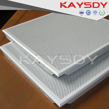 Top Design Aluminum Square Perforated Metal Tile Ceiling Sale For Africa