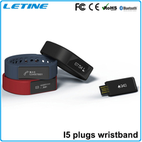 2015 colorful smart watch bracelet i5 plus bluetooth smart bracelet fitness sports smart bracelet