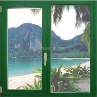 Elegant design house outdoor glass window