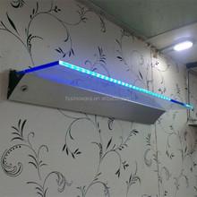 led glass shelf light used in kitchen, bar, living room