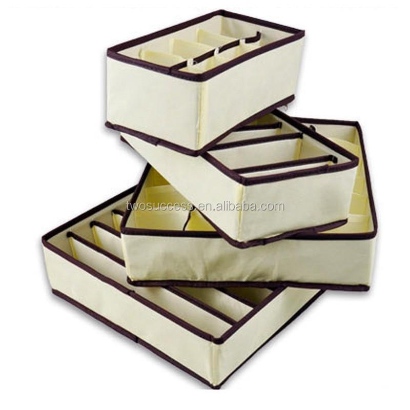 creamy white storage box