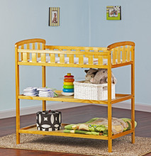 new design baby bedroom furniture style bamboo/wood baby changing table