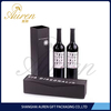 cuetom printed with logo printed wine carrier packaging box