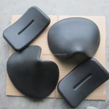 Polyurethane foam sports chair part saddle seat and backrest