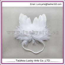 Lucky Arts White angel Feather wing
